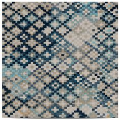 Quercus&Co. Tapestry Prussian Blue (The CARAVAN Collection)   輸入壁紙専門店 WALPA