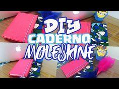 Como fazer caderno Moleskine - Faça você mesmo Caderno Costurado Tatiane Xavier - YouTube