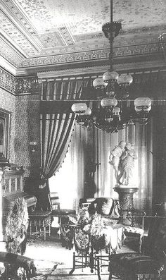 """""""Parlor 1880's"""" when I build my house I am going to have a room like this for family and friends"""