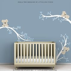 Baby Koala Decal by LittleLion Studio Koala Tree by LeoLittleLion