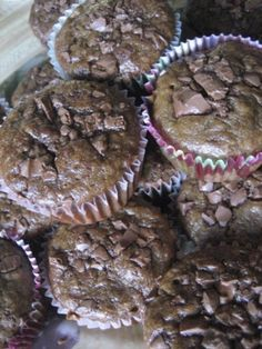 Banana chocolate chip muffins - I'm intrigued!