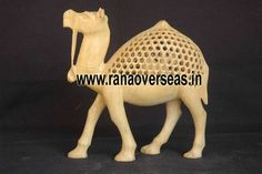 Wooden Camels Rana Overseas Leading Manufacturer and Exporter of Wooden Camels, We have fine Undercut Wooden camels and These camels are Carved from Block of Wood and We have different designs and different shapes and sizes.