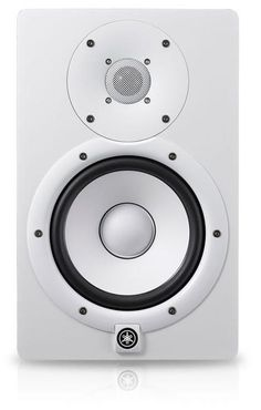 "Yamaha HS7 White 6.5"" Active Studio Monitor"