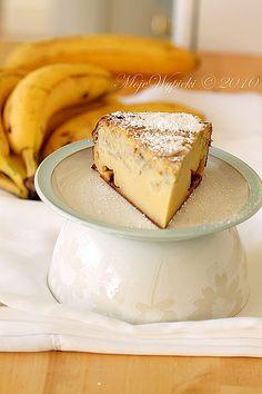 Wietnamskie pieczone ciasto bananowe