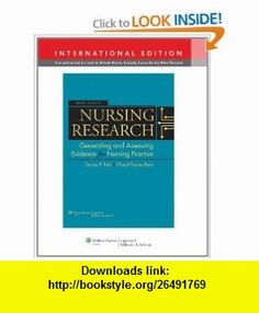 Nursing Research Generating and Assessing Evidence for Nursing Practice. Denise F. Polit, Cheryl Tatano Beck (9781451109146) Denise F. Polit , ISBN-10: 1451109148  , ISBN-13: 978-1451109146 ,  , tutorials , pdf , ebook , torrent , downloads , rapidshare , filesonic , hotfile , megaupload , fileserve