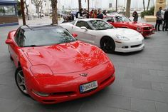 A brief history of Corvette cars according to their generations.