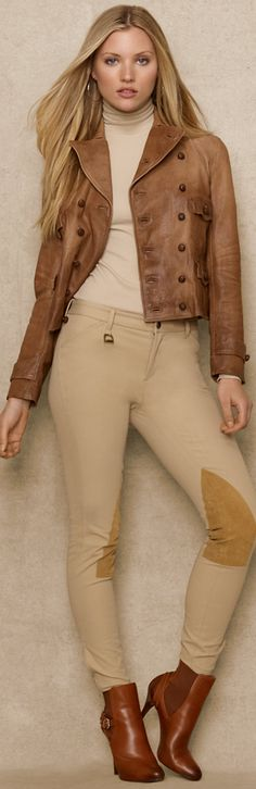 Ralph Lauren Blue Label Leather Biker Jacket   The House of Beccaria~