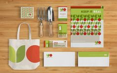 Urban Organics  Identity, Print, Digital  COLLATERAL  Urban Organics is a local organic food co-op that connects city shoppers directly to the farmer that grows the crops. The identity we created for them was built upon the concept of representing clean, organic produce that is free of additives, preservatives, and pesticides, with shapes and colors that are similarly pure in form.  urbanorganicsok.com