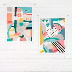 "Wall Hanging – Coast ""Fruits"" Medium | Swiden"