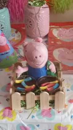 George and the muddy puddles Pig Party, Baileys, Peppa Pig, 3rd Birthday, 1 Year, Kids Part, 3 Year Olds