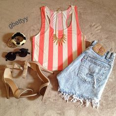 Summer Outfit #PrimerasVecesByCyzone