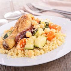 Couscous au Cookeo Couscous Express, 20 Min, Crepes, Fried Rice, Cobb Salad, Risotto, Meals, Chicken, Simple
