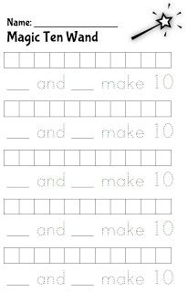 Classroom Freebies: Make Ten