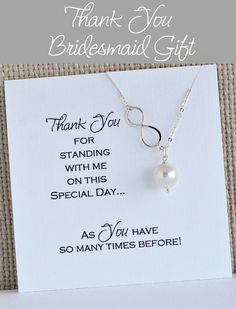 Items similar to Thank you Bridesmaids Gift Bridal Party Jewelry, Bridal Gifts, Wedding Gifts, Wedding Things, Wedding Favors, Bridesmaid Earrings, Bridesmaid Gifts, Bridesmaids, Bridesmaid Dress