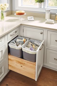 cabinet storage & organization ideas from our new kitchen 3 ~ Home Design Ideas Home, Storage Cabinets, Kitchen Remodel, Cupboard Storage, New Kitchen, Home Renovation, Kitchen Cabinet Drawers, Kitchen Organization, Kitchen Design