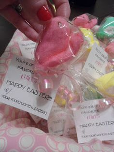 """""""You're one of our favorite """"chicks."""""""" Easter gift for YW"""
