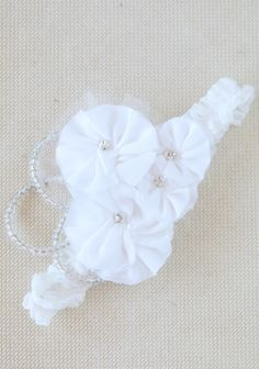 Eleanor Flower Indie Headband By Petit Plume at #Ruche @Ruche