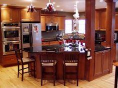 Yo quiero una cocina así!!