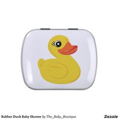 Rubber Duck Baby Shower Jelly Belly Candy Tin