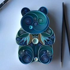 Quilling Letters, Paper Quilling Flowers, Paper Quilling Tutorial, Paper Quilling Cards, Paper Quilling Jewelry, Origami And Quilling, Paper Quilling Designs, Quilling Paper Craft, Quilling 3d