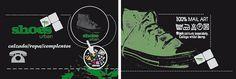 Tarjetas-shoes by alberto vega diseño gráfico & web, via Flickr