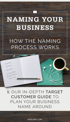 Hiring a copywriter's help with choosing a business name. It can feel crazy to hand over such an important part of your business to another person, but rest assured, our method works and it's collaborative. Your business's personality and your input will always be at the forefront of the conversation.
