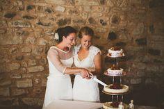 Barn wedding at Wedderburn Castle and Barns Scotland – Charlotte & Stacey » Kerry Diamond Photography