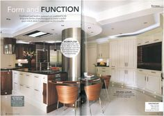 Davonport's Belgravia collection kitchen as featured in Period Idea's 100 Beautiful Kitchens magazine.