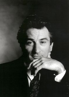 Robert Deniro photographed by Greg Gorman, NYC 1990