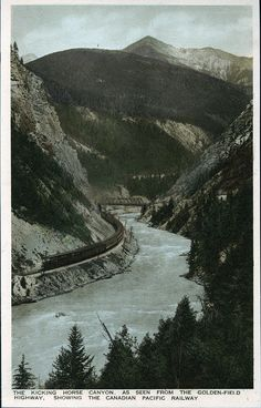 Postcard 9320: The Gowen, Sutton Co. Ltd, Canadian Rockies ([1925-1940])