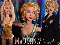 Madonna 2.0 OOAK doll by Cyguy
