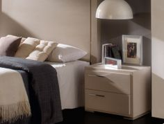 2 bedside tables with 2 drawers. Mod. VG-6