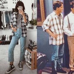 Best Vintage Outfits Part 20 Vintage Outfits, Retro Outfits, Vintage Fashion, Rachel Green Outfits, Fashion Tv, Fashion Outfits, Fandom Fashion, Fashion Couple, Disney Fashion