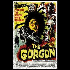 The Gorgon Poster T-shirt - 3XL / Black