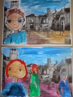 Kindergarten Art Class: ΠΟΛΕΜΟΣ ΚΑΙ ΕΙΡΗΝΗ School Staff, Peace, October, Classroom, Painting, Ideas, Crafts, Painting Art, Paint