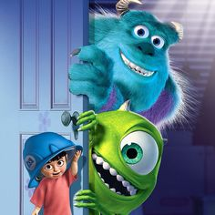 Monsters, Inc. (Animation). I love the story and the characters. The textures and colors are so vivid that you forget it's animation. The big blue Sulley and the green and rounded Mike Wazowski are perfectly defined through their wonderful chemistry. They are different but equally likeable. It's absolutely impossible not to fall in love with the little girl Boo. It's an awesome lecture about how we value looks. Great twist: the power of laughter.