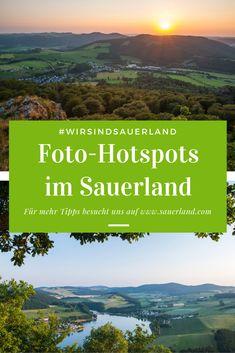 Ihr seid auf euren Ausflügen immer auf der Suche nach dem tollsten Spot für das perfekte Foto? Dann haben wir mit unseren Foto-Hotspots im Sauerland genau das Richtige für euch.