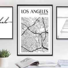 1938 los angeles street map vintage blueprint 16x20 by themapshop on los angeles map california print la map california map los angeles poster la city malvernweather Images