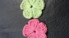 Flor Nº 21 en tejido crochet tutorial paso a paso. - YouTube