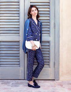 c417ce1eb2 Sofia Coppola makes even the pyjamas look chic. Louis Vuitton