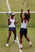 Serena and Venus Williams GOLD MEDAL,  August 5. 2012 View image detail