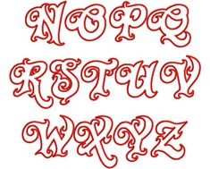 Graffiti Alphabet : Letter A to Z Twirly Whirly Applique Please give your comments about this graffiti image, Thanks. Graffiti Alphabet Fonts, Tattoo Fonts Alphabet, Graffiti Lettering Fonts, Tattoo Lettering Fonts, Hand Lettering Alphabet, Calligraphy Alphabet, Lettering Design, Alphabet Letters, Pencil Calligraphy