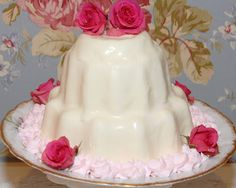 Pink Piccadilly Pastries: Molded French Cream