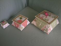 Origami Boxes by suecake - Cards and Paper Crafts at Splitcoaststampers