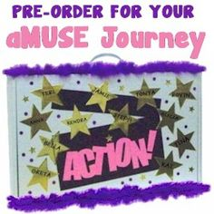 Action Journey Badge in a Bag® -- to help complete the aMUSE Journey