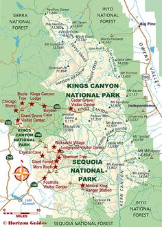 Explore California: National Parks Travel Guide – lodging, maps, photos