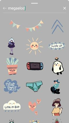 Instagram Emoji, Iphone Instagram, Instagram Frame, Instagram And Snapchat, Instagram Blog, Instagram Story Ideas, Instagram Editing Apps, Creative Instagram Photo Ideas, Cute Stickers