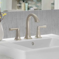 30 best faucets images in 2018 widespread bathroom faucet rh pinterest com