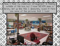 Library (Hedgesville Elementary School in West Virginia)