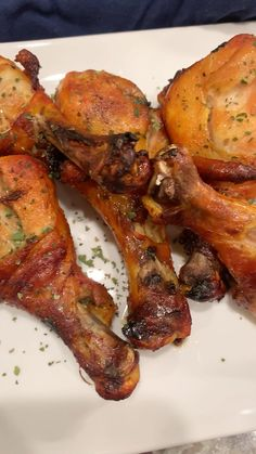 Chicken Legs In Oven, Oven Chicken Recipes, Best Recipe For Chicken Legs, Cooking Recipes, Drumstick Recipes Oven, How To Cook Drumsticks, Oven Baked Drumsticks, Soul Food, Have Time